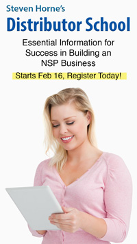 NSP Academy Distributor Sidebar
