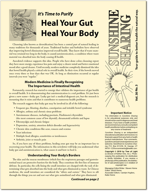 Heal Your Gut; Heal Your Body