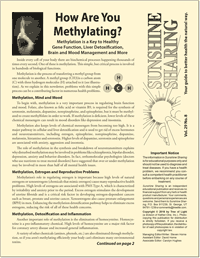 How Are You Methylating?